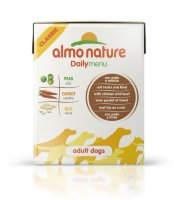 Almo Nature Daily Menu Adult Dog Chicken&Beef Tetrapack