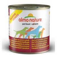 Almo Nature Home Made Adult Dog Beef with Potatoes and Peas